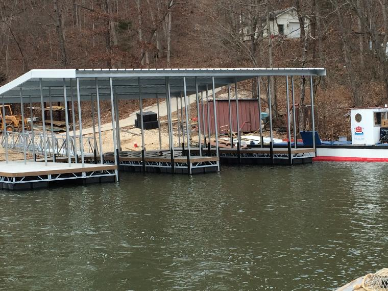 New residential dock ready for delivery.