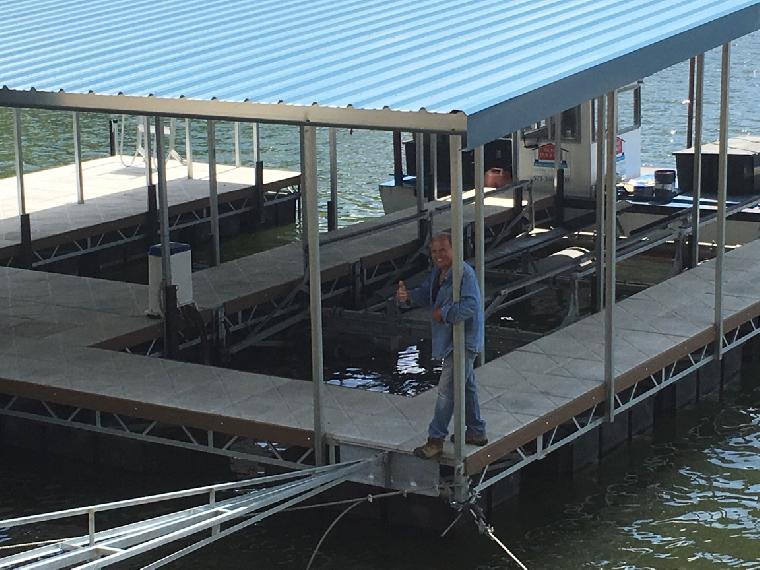 Lake of the Ozarks Dock Builders | Rich's Dock Company